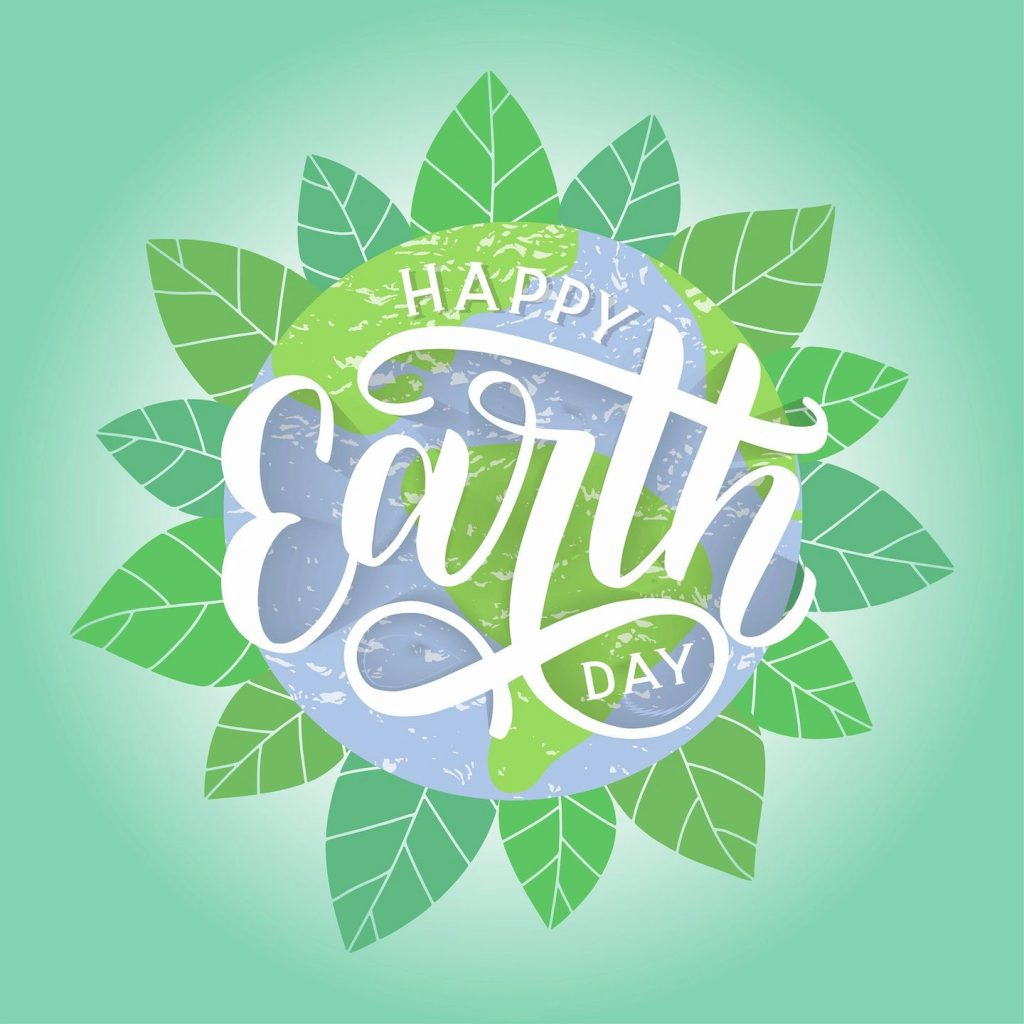 celebrating the 50th anniversary of earth day logo