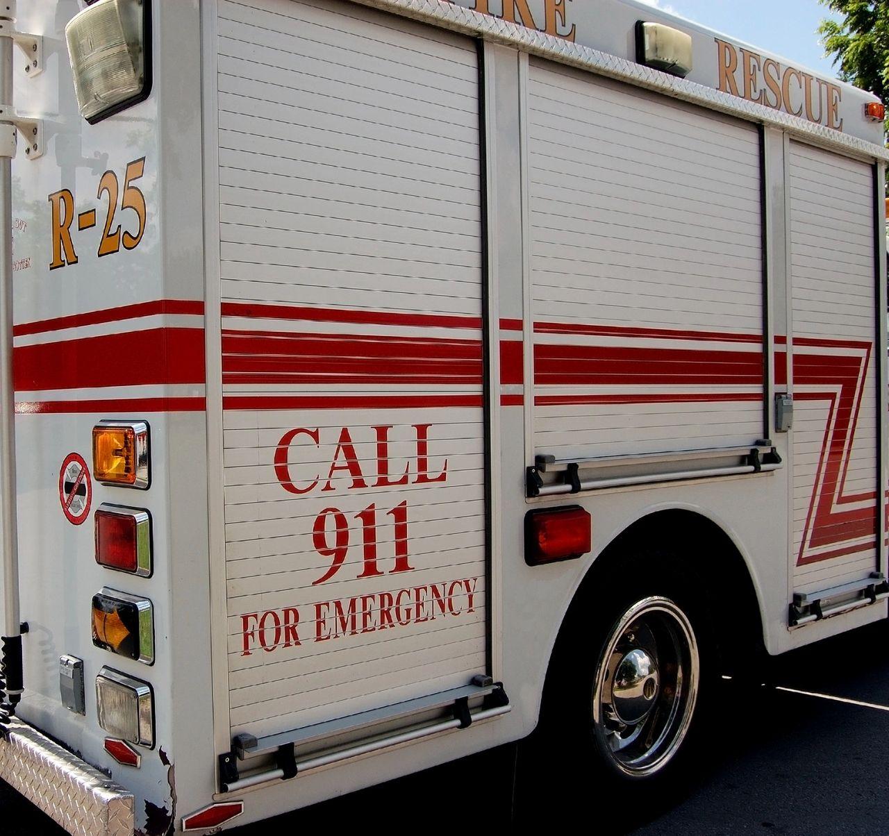 National EMS Week ambulance