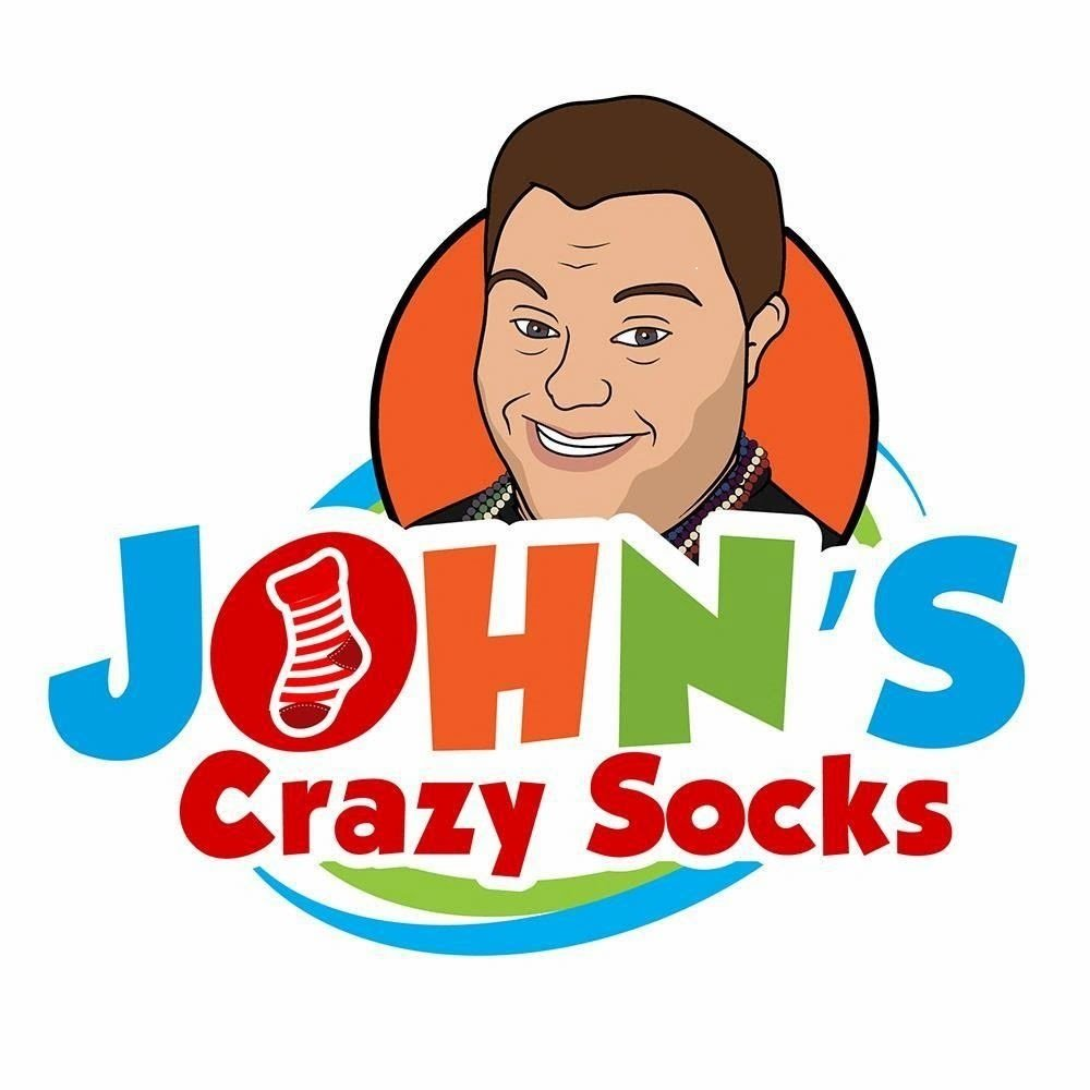 Employing adults with differing abilities John's crazy socks logo