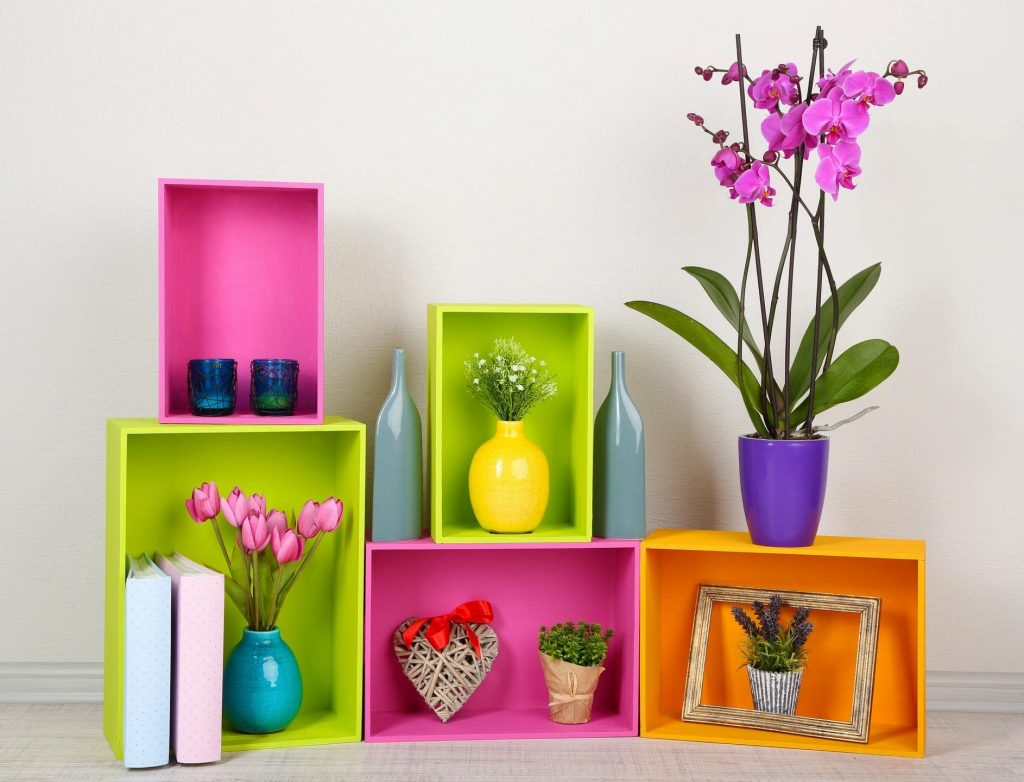 Sassy Sister Stuff image of bright pretty flowers and decor