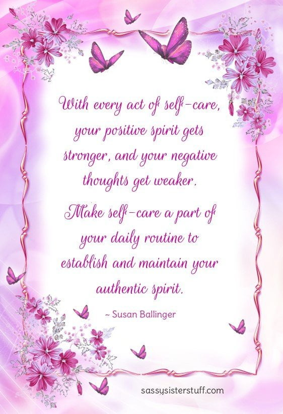self care quote to visualize your highest self and find your authentic spirit