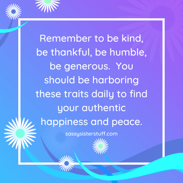 inspirational quote about kindness and gratitude