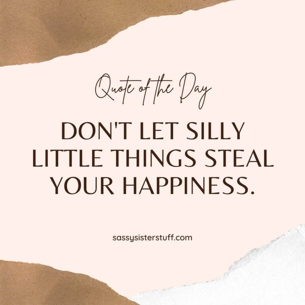shades of cream and beige background with a happiness quote