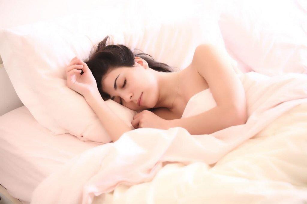women sleeping peacefully