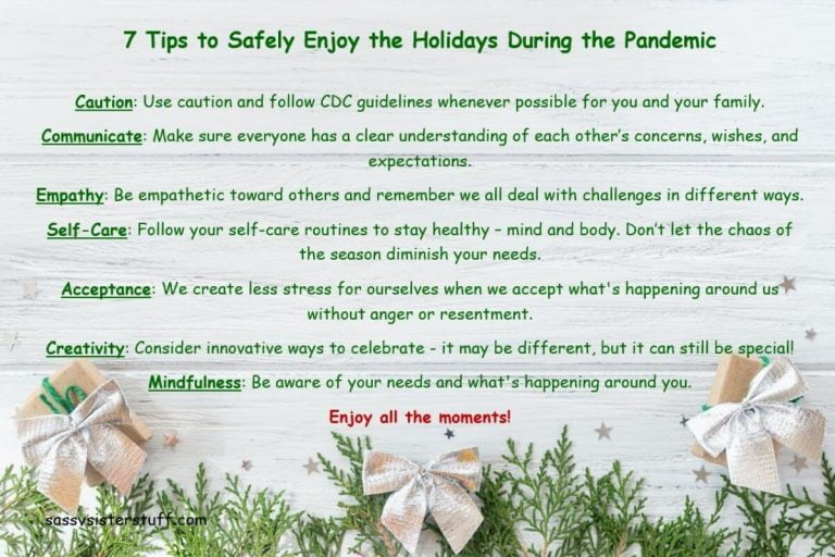 7 Tips to Safely Enjoy the Holiday Season During the Pandemic