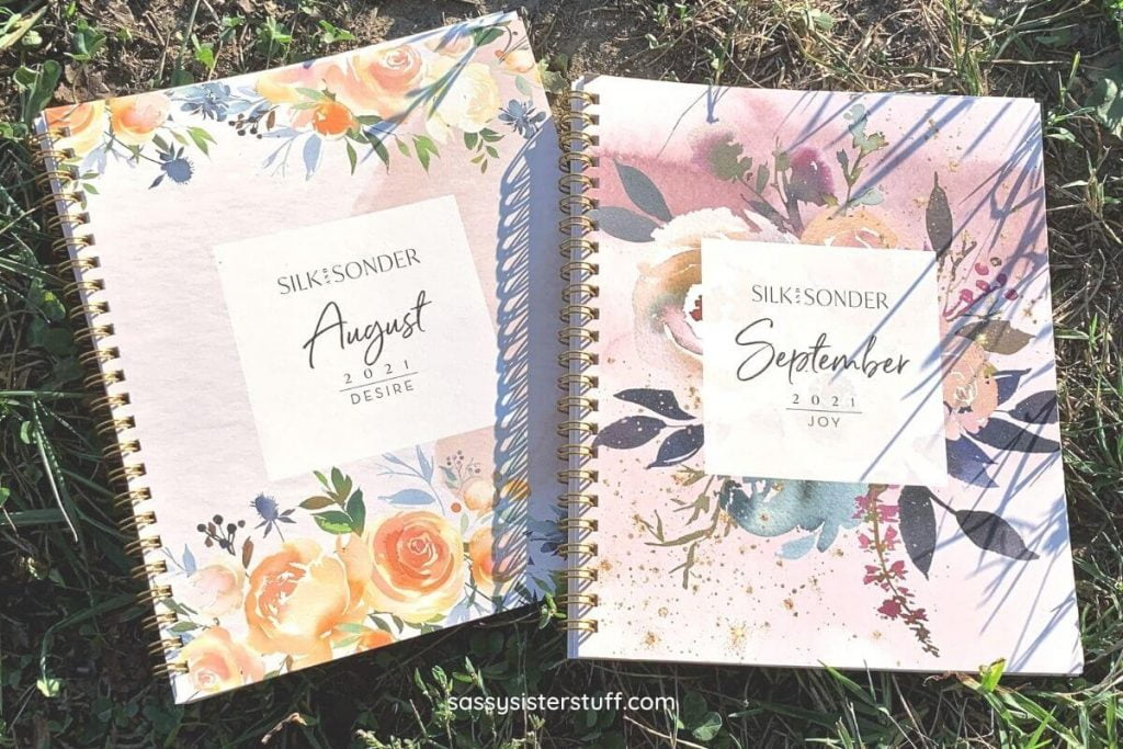 silk and sonder August and September journals
